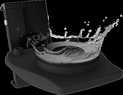 фото промывки гелевой присоски под краном